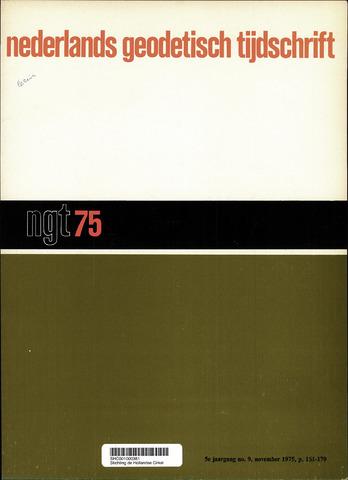 Nederlands Geodetisch Tijdschrift (NGT) 1975-11-01