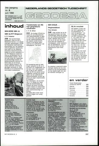 (NGT) Geodesia 1992-06-01