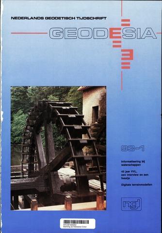 (NGT) Geodesia 1993-01-01