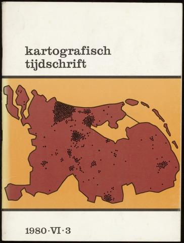 Kartografisch Tijdschrift 1980-07-01