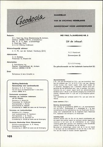 (NGT) Geodesia 1965-05-01