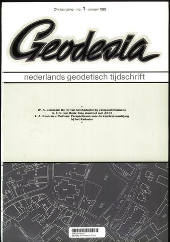 (NGT) Geodesia 1982-01-01