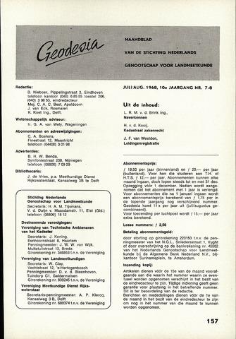 (NGT) Geodesia 1968-07-01