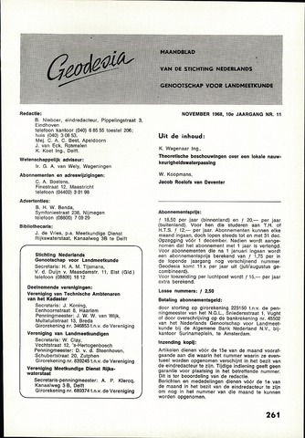 (NGT) Geodesia 1968-11-01