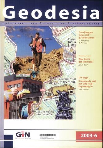 (NGT) Geodesia 2003-06-01