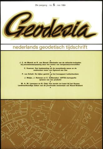 (NGT) Geodesia 1984-05-01