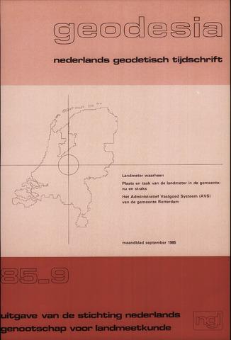 (NGT) Geodesia 1985-09-01