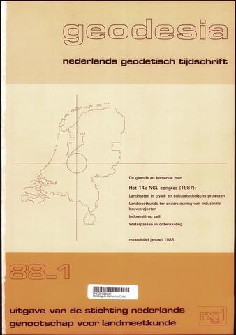 (NGT) Geodesia 1988-01-01