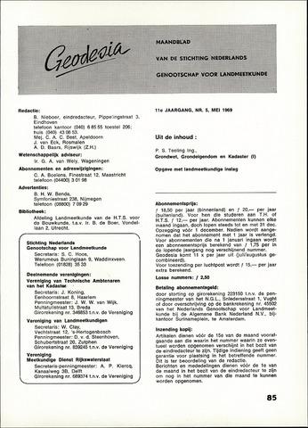 (NGT) Geodesia 1969-05-01