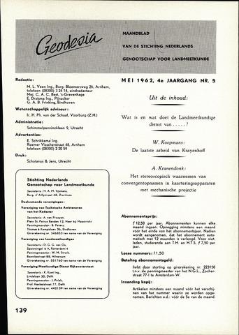 (NGT) Geodesia 1962-05-01