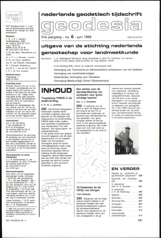 (NGT) Geodesia 1989-06-01