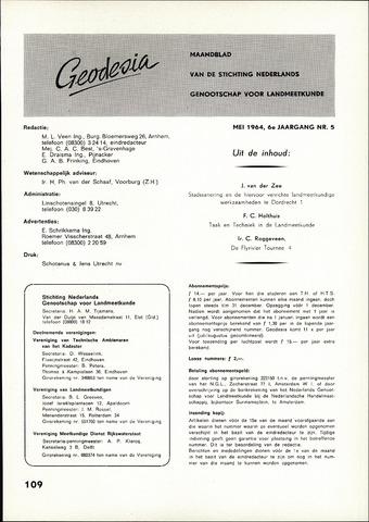 (NGT) Geodesia 1964-05-01