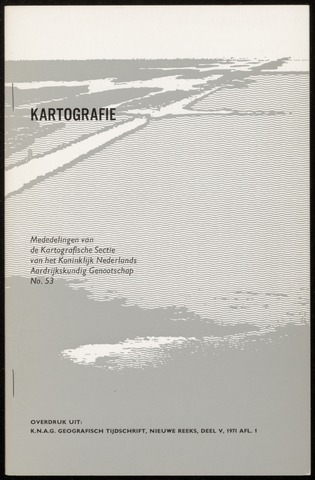 Kartografie 1971-01-01