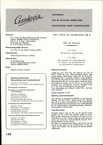 (NGT) Geodesia 1963-05-01