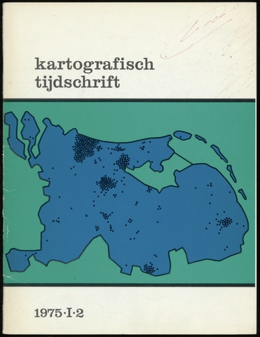 Kartografisch Tijdschrift 1975-04-01