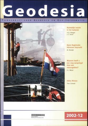 (NGT) Geodesia 2002-12-01