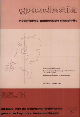 (NGT) Geodesia 1985-11-01