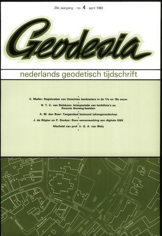 (NGT) Geodesia 1983-04-01