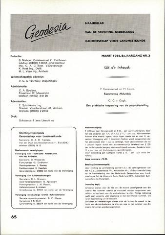 (NGT) Geodesia 1966-03-01