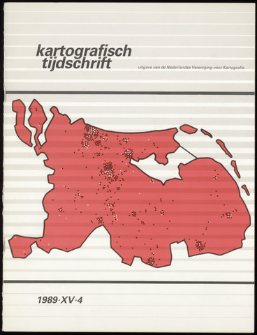Kartografisch Tijdschrift 1989-10-01