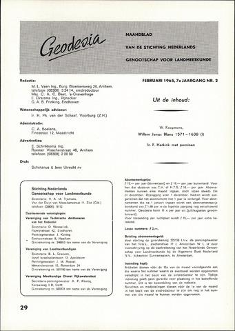 (NGT) Geodesia 1965-02-01