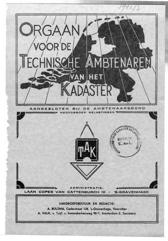 Orgaan der Vereeniging TAK 1942-06-01