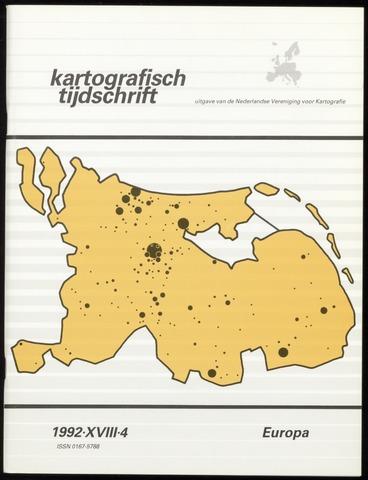 Kartografisch Tijdschrift 1992-10-01