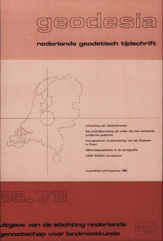(NGT) Geodesia 1985-07-01