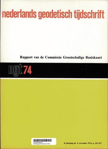 Nederlands Geodetisch Tijdschrift (NGT) 1974-11-01