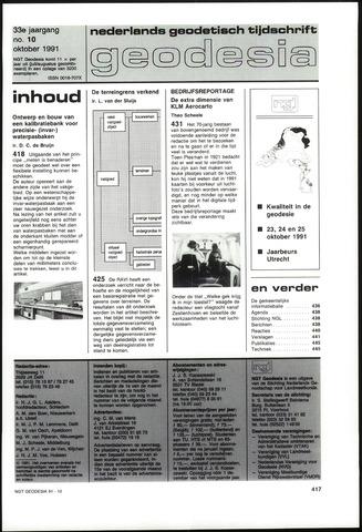 (NGT) Geodesia 1991-10-01