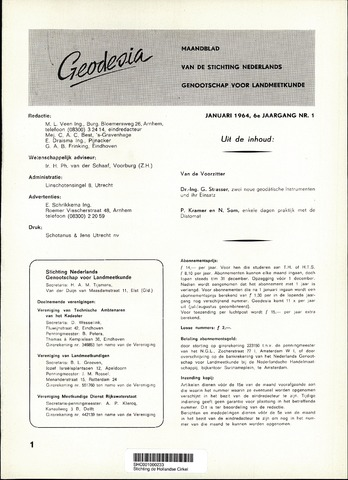 (NGT) Geodesia 1964-01-01