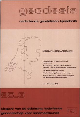 (NGT) Geodesia 1985-03-01