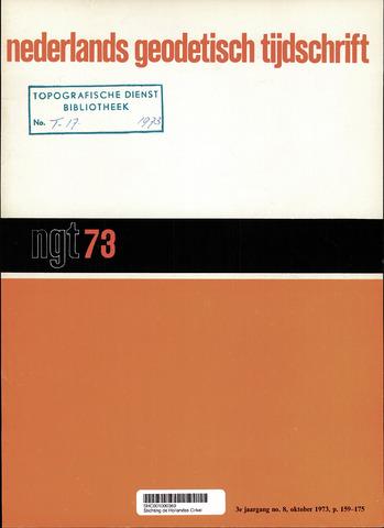Nederlands Geodetisch Tijdschrift (NGT) 1973-10-01