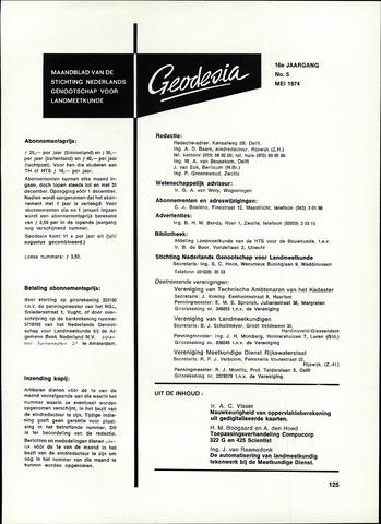(NGT) Geodesia 1974-05-01