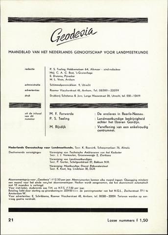 (NGT) Geodesia 1959-10-01