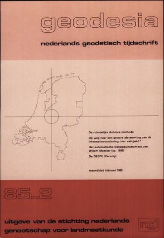 (NGT) Geodesia 1985-02-01