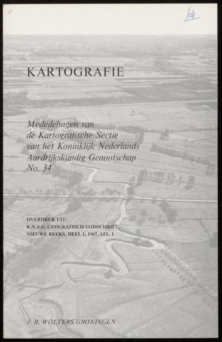 Kartografie 1967