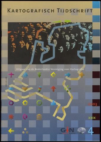 Kartografisch Tijdschrift 2003-10-01
