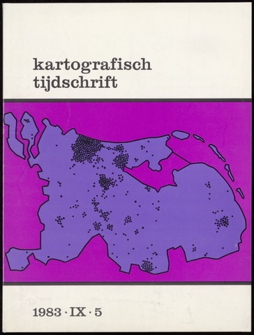 Kartografisch Tijdschrift 1983-11-01