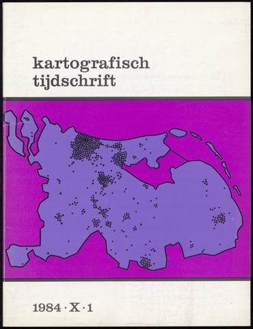 Kartografisch Tijdschrift 1984