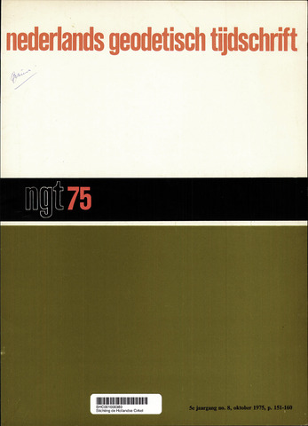 Nederlands Geodetisch Tijdschrift (NGT) 1975-10-01