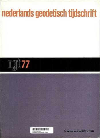 Nederlands Geodetisch Tijdschrift (NGT) 1977-06-01