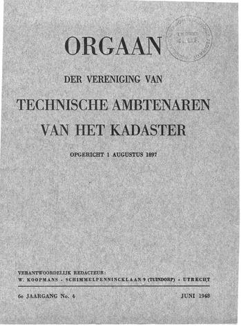 Orgaan der Vereeniging TAK 1948-06-01