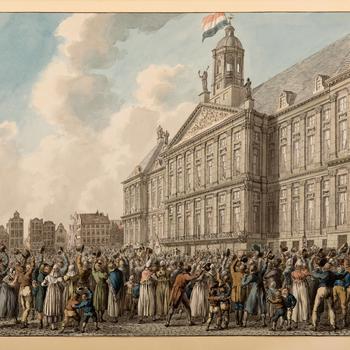 Bezoek van Willem II en Anna Paulowna aan Amsterdam