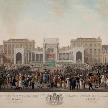 Eedaflegging van koning Willem I, Brussel, 21 september 1815