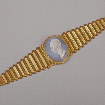 Armband met portretcamée van Willem II