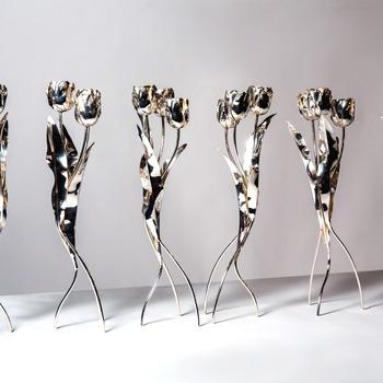 Kandelaars 'Dansende Tulpen'