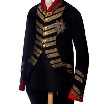 Groot tenue van het Windsoruniform van Willem V
