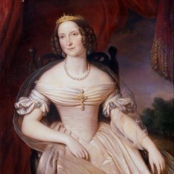 Portret van Anna Paulowna