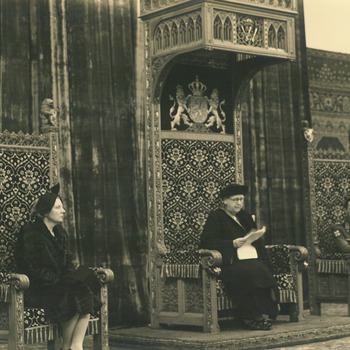 De eerste troonrede na de Tweede Wereldoorlog, 20 november 1945